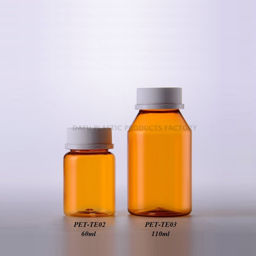 Dafu PET 60 ml 110 ml Pharmaceutical Bottle