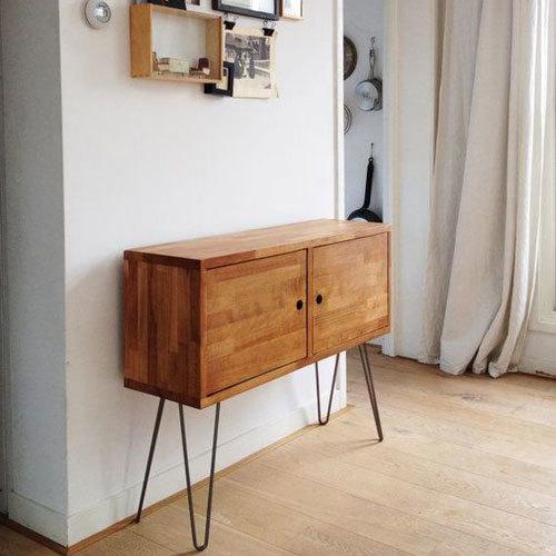 Wooden Storage Box Cabinet