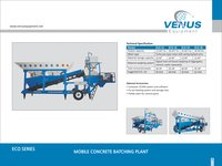 Eco Mobile Concrete Batching Plant