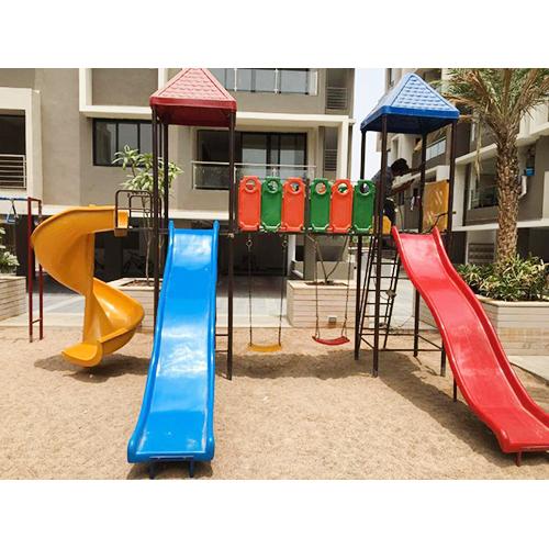 Playground Slide Set