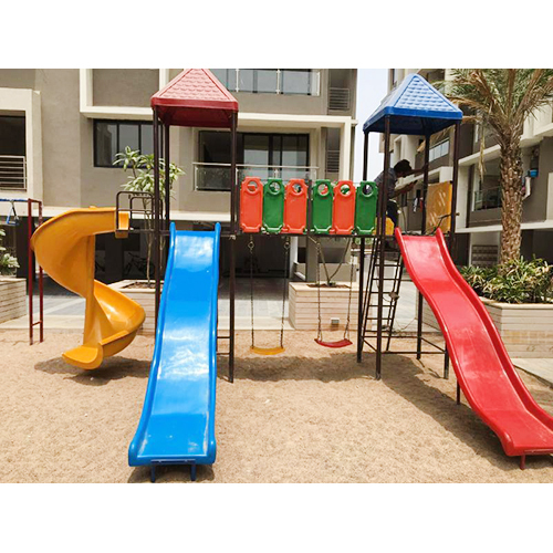 Playground Slide Set