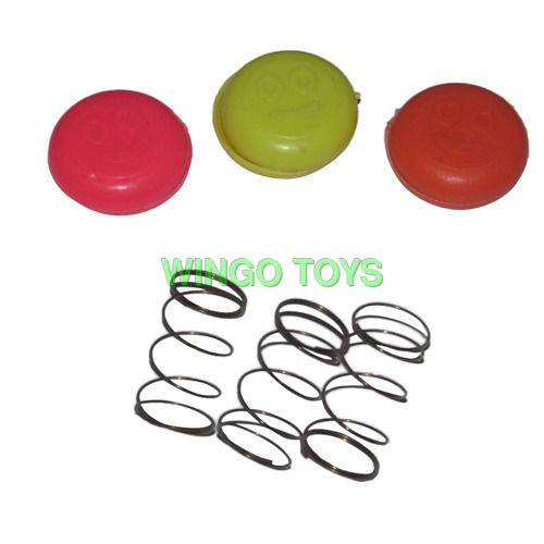 Promotional Jumping Smiley Disc Toys