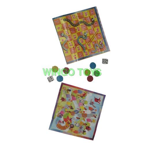Plastic Ludo Promotional Toys