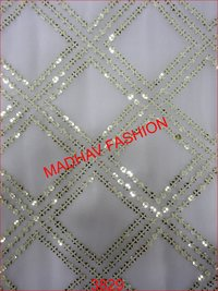 Sequin With Thread Embroidery