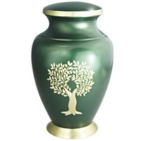 Brass Cremation Urn For Ashes
