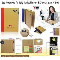 Eco sticky Pad with Ball Pen