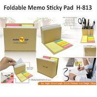 Foldable Memo Sticky Pad