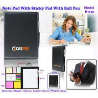 Eco Sticky Momo Pad with Sticky note & Ball  Pen