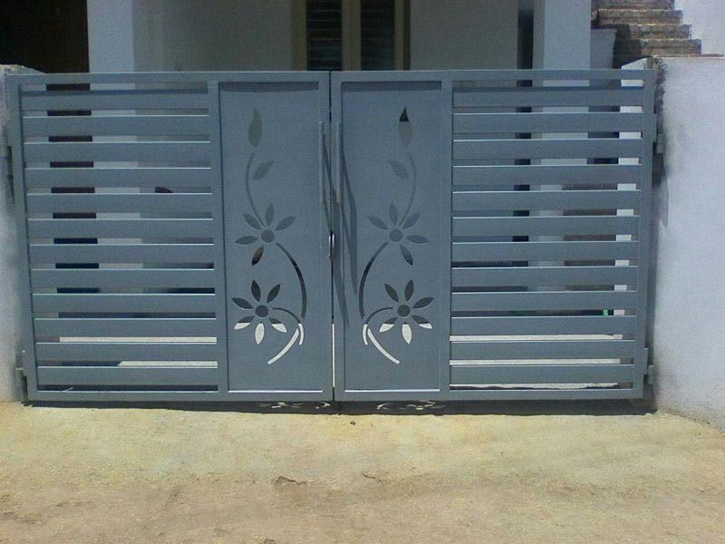 cnc cutting metal gates