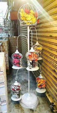 Flower Stand with Cages