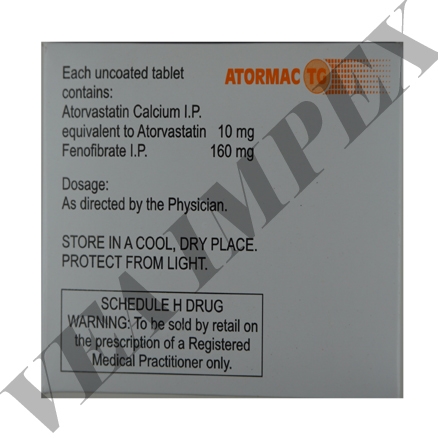 Atormac TG(Atorvastatin Tablets)