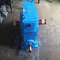 Double Output Worm Reduction Gearbox