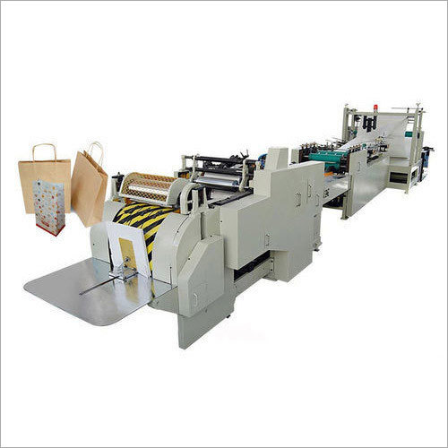 Fully Automatic Paper Bag Making Machines