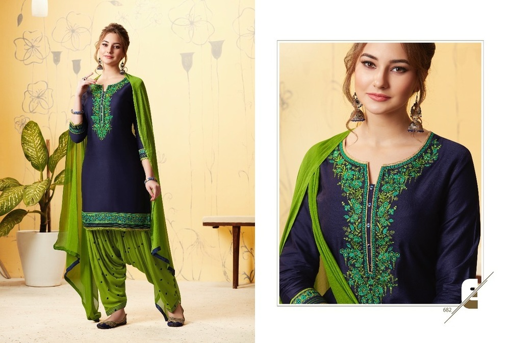 Beautiful Punjabi Patiala Suits