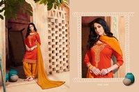 Pure Cotton Punjabi Suits