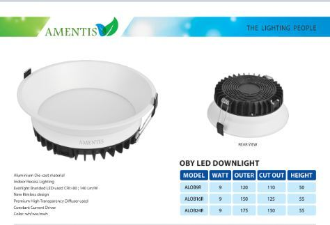 Oby Led Downlight