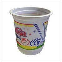 Printed Plastic Disposable Glass