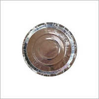Disposable Silver Paper Plates, Bbop Materials (Good Quality)