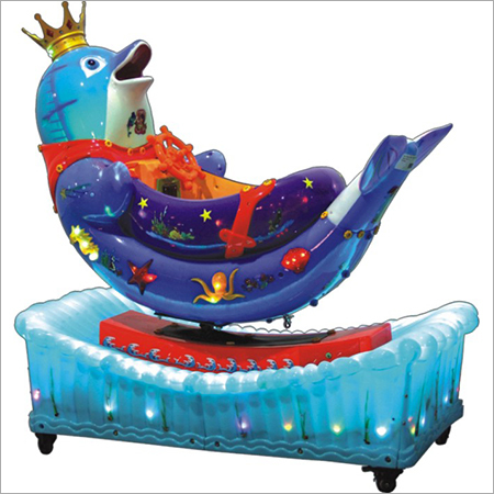 Kiddy Ride (Rotating Dolphin)