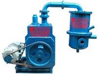 oil sealed rotary high vacuum pump