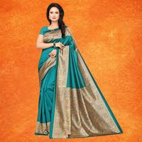 Latest Casual Wear Mysore silk Saree