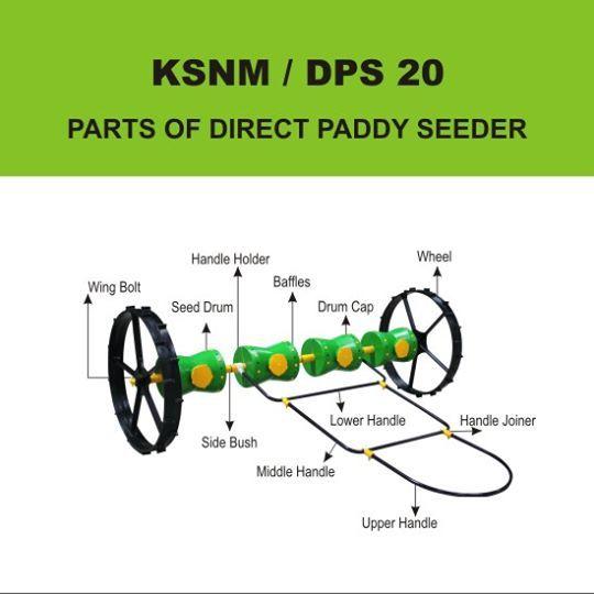 8 Row Drum Seeder