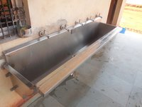 Hand Wash Sink - Wall Mounted