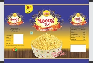 Moong Dal Packaging Pouch