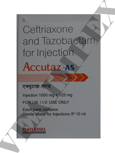 Accutaz As(Ceftriaxone Tazobactam Injection)