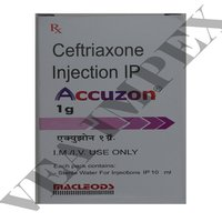 Accuzon 1g(Ceftriaxone Injection)