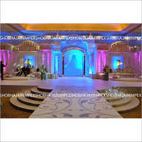 Elegant Grand Reception Stage