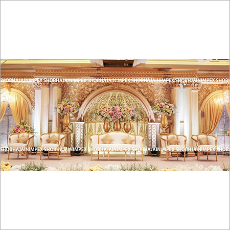 Grand luxurious Wedding Stage Decoration
