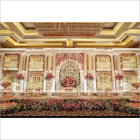 Majestic Wedding Stage Decoration