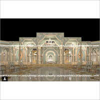 Western Wedding Event Stage Decoration
