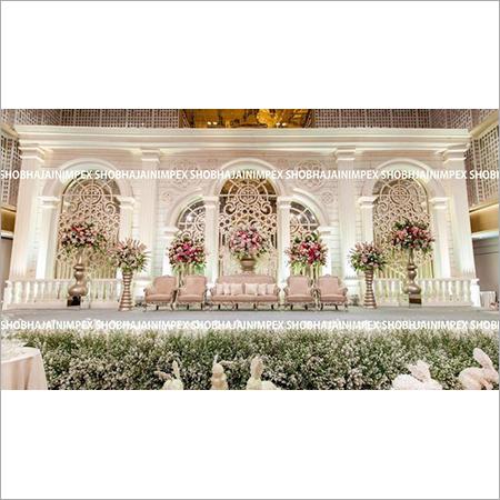 Lavish Wedding and  Reception Stage