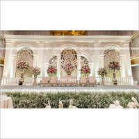 Lavish Wedding and  Reception Stage