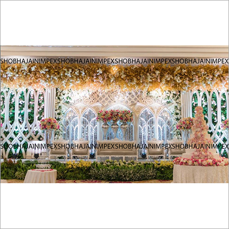 Grand Wedding and Reception Stage