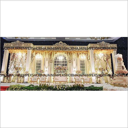 Regal Wedding  and Reception Stage