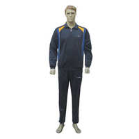 Mens Navy Athletic Track Suits
