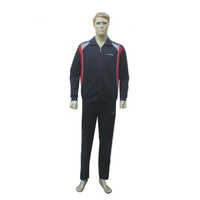 Mens Navy Athletic Designer Track Suits