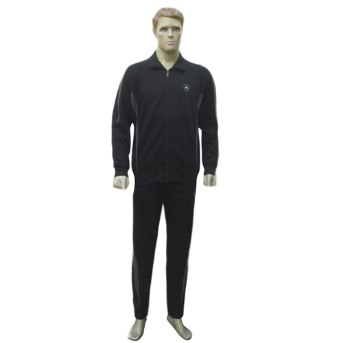 Mens Black Athletic Designer Track Suits