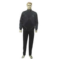 Mens Black Athlet Fancy Track Suits