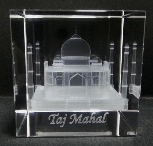 3D Crystal Taj Mahal Gifts