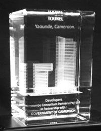 3D Glass Cube Laser Engraver
