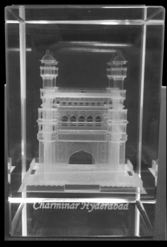 3d glass laser engraving