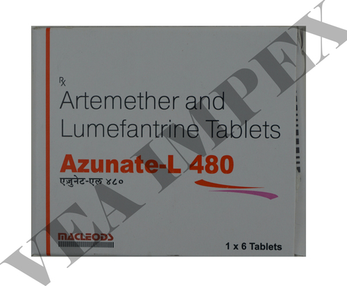 Azunate L 480(Artemether Lumefantrine Tablets)