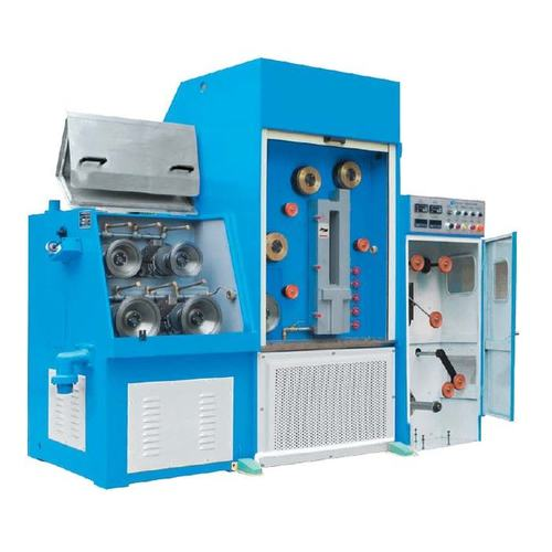 Fine Wire Drawing Machine With Annealer