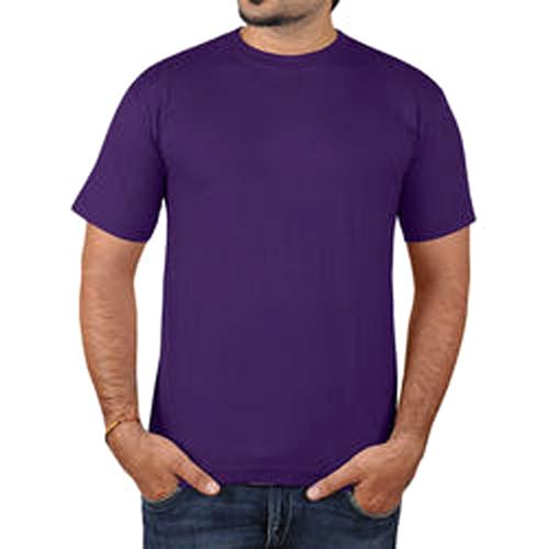 Round Neck Purple Color T Shirt