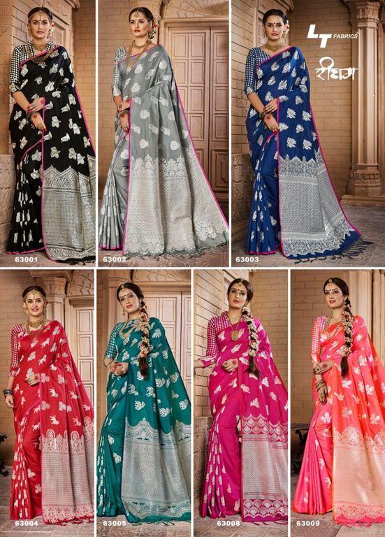 Latest Jacquard Silk Sarees