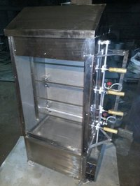 Chicken Grill Machine 3 Rod